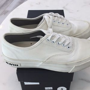 Sea Vees for JCrew in Canvas White size 5